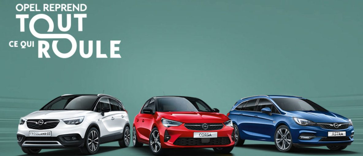 Opel Reprend Tout Ce Qui Roule