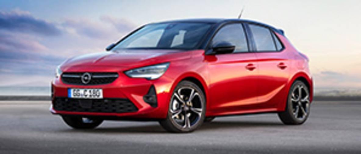 Véhicules disponibles Opel