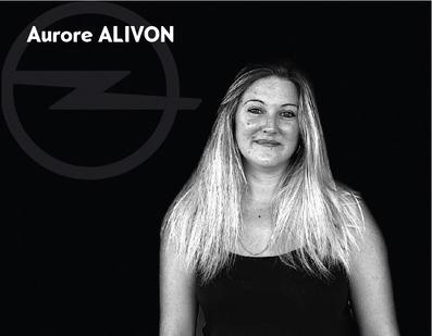 Aurore Alivon - Réceptionnaire atelier