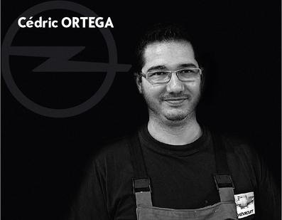 Cédric Ortega - Technicien
