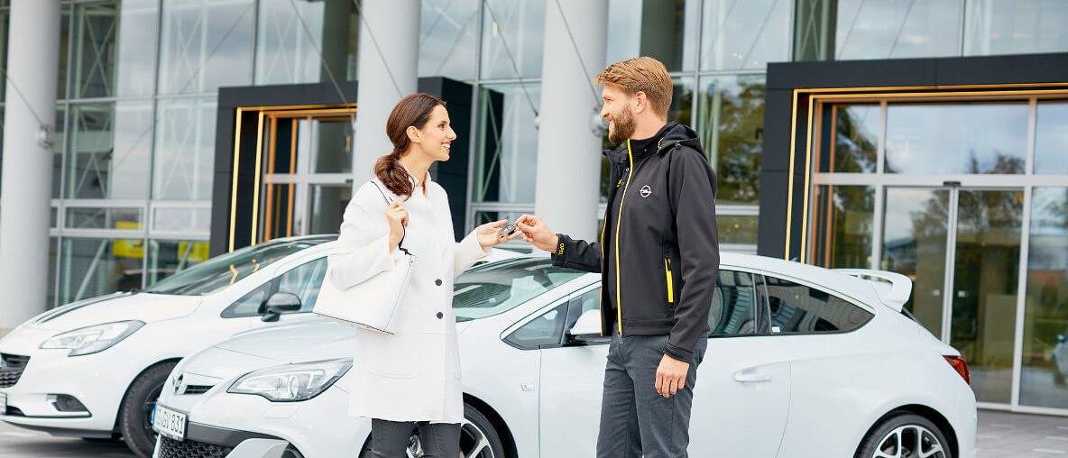 Opel Rent entreprise