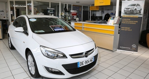 Opel Calais
