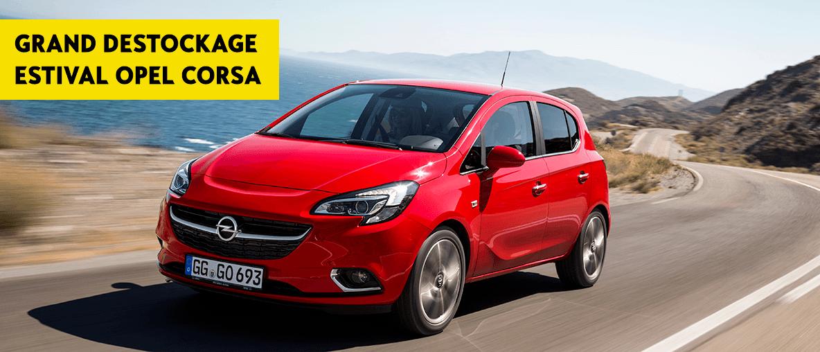 Déstockage Opel Corsa