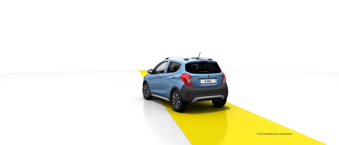 Nouvelle Opel : KARL ROCKS