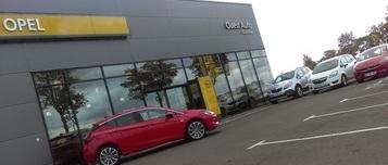 Nouveau garage Opel à Châteaudun
