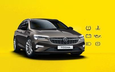 Le controle sécurité Opel