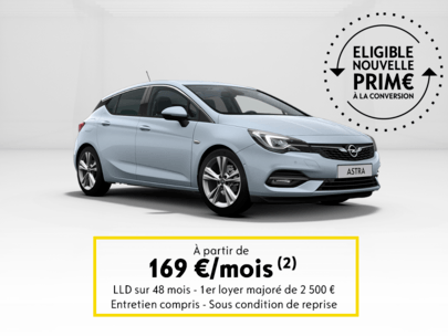 Opel astra 5 portes