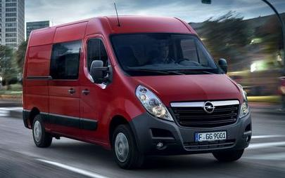 OPEL MOVANO PACK CLIM+