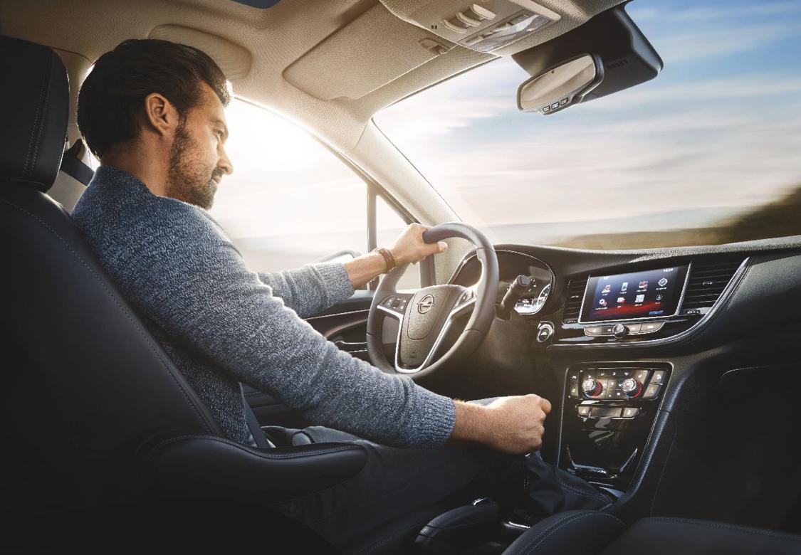 Opel car interior