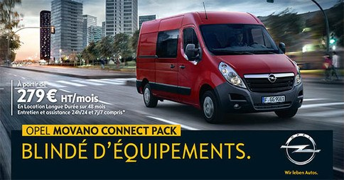 Opel Movano Connect Pack