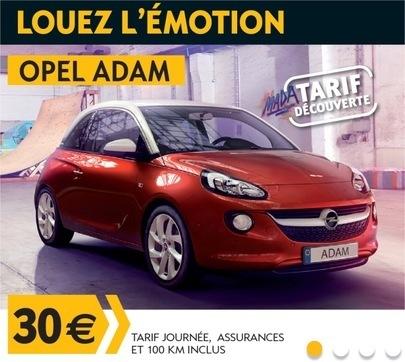 Opel Rent - Opel Adam