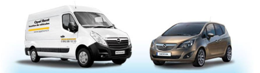 Opel rent, Opel Movano, Opel meriva